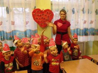 Przedszkole Nr 7 Im Marii Konopnickiej Walentynkowy Dzień W